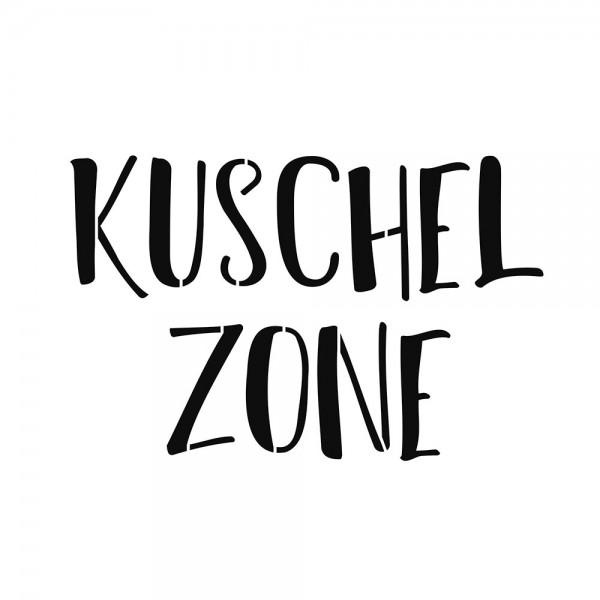 Schablone Kuschelzone