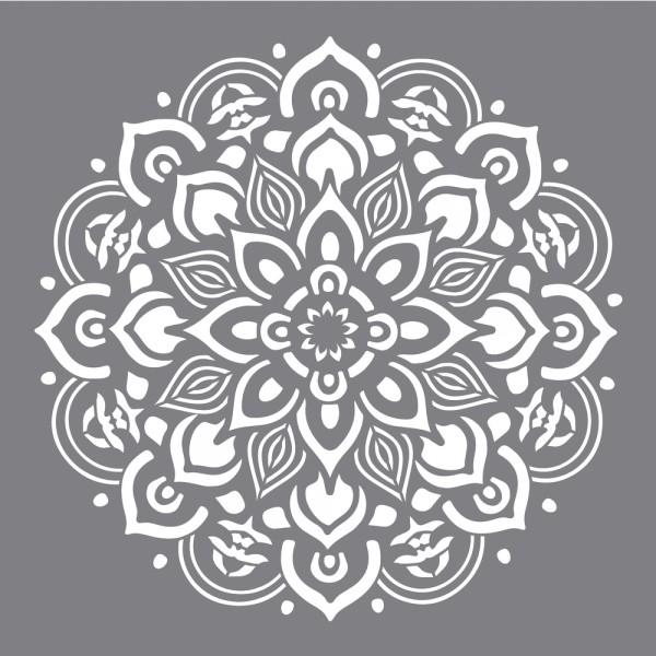 Schablone Mandala