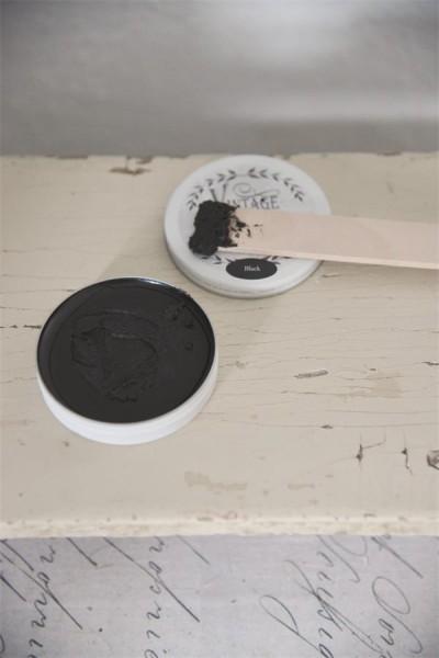 Vintage Paint Black Wax 35 ml