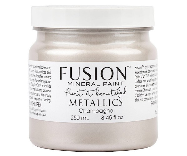 Fusion Mineral Paint Metallic Champagne