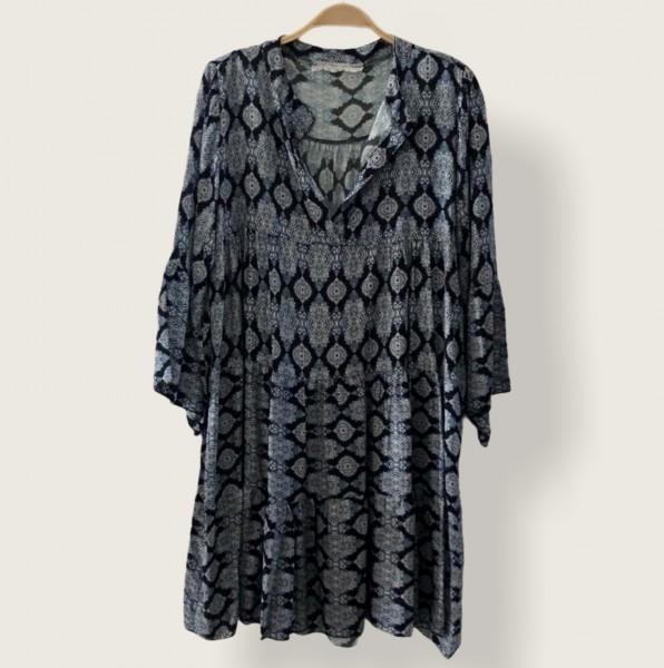 Tunika Kleid gemustert