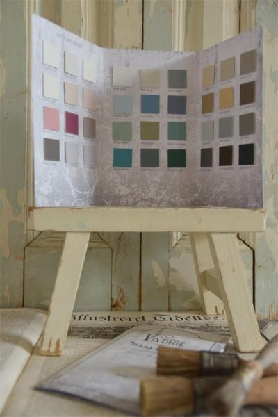 Vintage Paint Farb-Karte