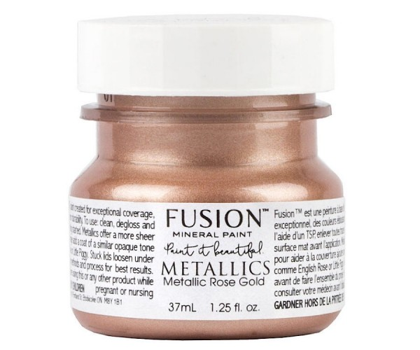 Fusion Mineral Paint Metallic Rose Gold