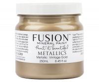 Fusion Mineral Paint Metallic Vintage Gold