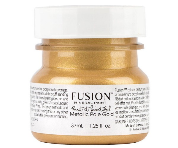 Fusion Mineral Paint Metallic Pail Gold